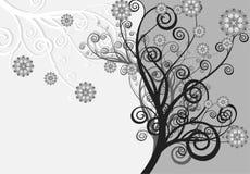 Abstrakter Hintergrund - Blumen und die Natur Lizenzfreies Stockbild