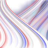 Abstrakter Hintergrund, bunte helle Linien vektor abbildung