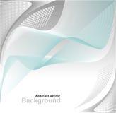 Abstrakter Hintergrund in den blauen Farben des grauen Weiß Stockbild