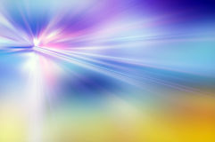 Abstrakter Hintergrund in den blauen, purpurroten und gelben Farben Lizenzfreie Stockbilder