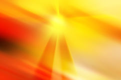 Abstrakter Hintergrund in den gelben, orange und roten Farben Lizenzfreie Stockfotografie
