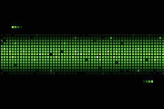 Abstrakter Hintergrund in den grünen Farben Lizenzfreies Stockbild