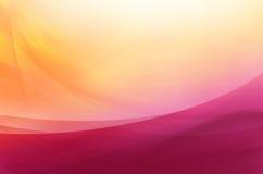 Abstrakter Hintergrund in den purpurroten und gelben Tönen Stockbilder