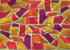Abstrakter Hintergrund in den Retro- Farben Stock Abbildung
