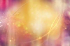 Abstrakter Hintergrund in den warmen Farben Lizenzfreies Stockbild