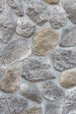 Abstrakter Hintergrund, der aus großen Steinen bestehend pflastert Stockbild