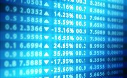 Abstrakter Hintergrund der Börse Lizenzfreie Stockfotografie