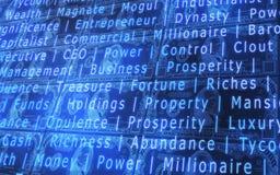 Abstrakter Hintergrund der Börse Lizenzfreies Stockbild