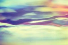 Abstrakter Hintergrund der beweglichen Wasseroberfläche Stockfotos