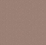 Abstrakter Hintergrund der Bienenwabe Blaue Farben wiederholten Hexagonfliesen-Mosaiktapete Nahtloses klassisches Oberflächenmust Lizenzfreie Stockfotografie