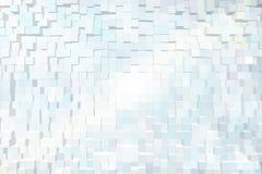 Abstrakter Hintergrund der Blöcke 3d Stockfotografie