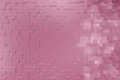 Abstrakter Hintergrund der Blöcke 3d Lizenzfreies Stockfoto