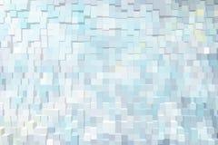 Abstrakter Hintergrund der Blöcke 3d Stockbilder
