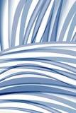 abstrakter Hintergrund der Blau-weißen Musterschönheit stock abbildung