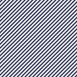 Abstrakter Hintergrund der blauen Schrägstreifen Dünne schräg liegende Linie Tapete Nahtloses Muster mit einfachem klassischem Mo Lizenzfreies Stockbild