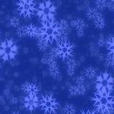 Abstrakter Hintergrund der blauen Sterne Lizenzfreies Stockbild