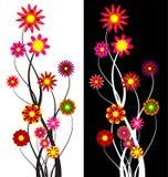 Abstrakter Hintergrund der Blume Lizenzfreie Stockfotos