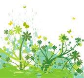 Abstrakter Hintergrund der Blume Lizenzfreie Stockbilder