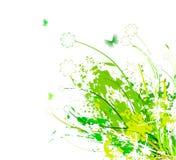 Abstrakter Hintergrund der Blume Stockfotografie