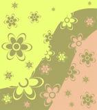 Abstrakter Hintergrund der Blume Stockbilder