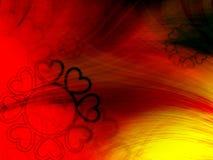 Abstrakter Hintergrund der Blume vektor abbildung