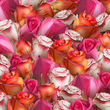 Abstrakter Hintergrund der Blumen ENV 10 Stockfotografie