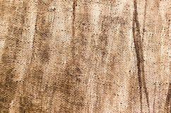 Abstrakter Hintergrund der braunen Farbe auf Segeltuch Lizenzfreie Stockfotografie