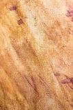 Abstrakter Hintergrund der braunen Farbe auf Segeltuch Stockfoto
