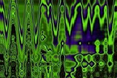 Abstrakter Hintergrund der bunten grün-violetten Tönungen Stockbilder