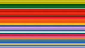 Abstrakter Hintergrund der bunten Streifen; ausgedehnter Pixeleffekt Stockbild