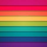 Abstrakter Hintergrund der bunten Streifen des Regenbogens Stockfotos