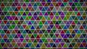 Abstrakter Hintergrund der Dreiecke Lizenzfreie Stockfotos
