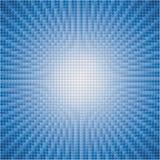Abstrakter Hintergrund der Explosion des blauen Sternes Stockbild