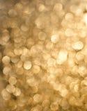 Abstrakter Hintergrund der funkelnden Leuchten des Feiertags Lizenzfreie Stockfotos