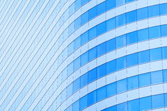 Abstrakter Hintergrund der Gebäudefenster Stockbilder