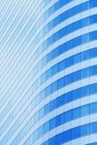 Abstrakter Hintergrund der Gebäudefenster Stockfotografie
