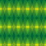 Abstrakter Hintergrund der grünen Leuchte Stockbild