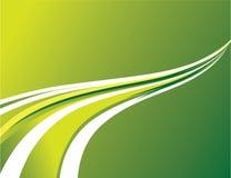 Abstrakter Hintergrund der grünen Streifen vektor abbildung