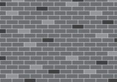 Abstrakter Hintergrund der grauen Backsteinmauer Lizenzfreie Stockfotos