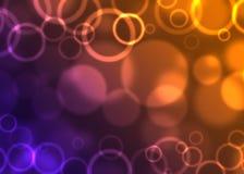 Abstrakter Hintergrund der Kreise Lizenzfreie Stockbilder