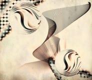 Abstrakter Hintergrund der Kunst Stockfoto