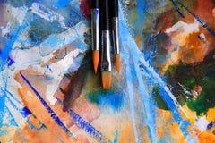 Abstrakter Hintergrund der Kunst Lizenzfreies Stockfoto