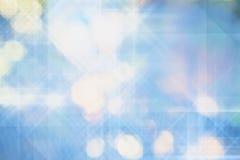 Abstrakter Hintergrund der Leuchten und des Feiertags Lizenzfreie Stockbilder
