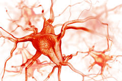 Abstrakter Hintergrund der Nerven lizenzfreie abbildung