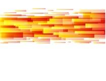 Abstrakter Hintergrund in der Orange vektor abbildung