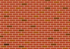 Abstrakter Hintergrund der roten Backsteinmauer Stockbild