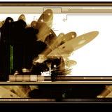 Abstrakter Hintergrund der Sciencefiction Lizenzfreies Stockfoto