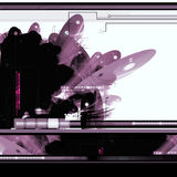 Abstrakter Hintergrund der Sciencefiction Lizenzfreie Stockbilder