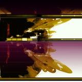 Abstrakter Hintergrund der Sciencefiction Stockfotografie
