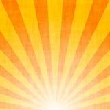Abstrakter Hintergrund der Sunbeams Lizenzfreie Stockbilder
